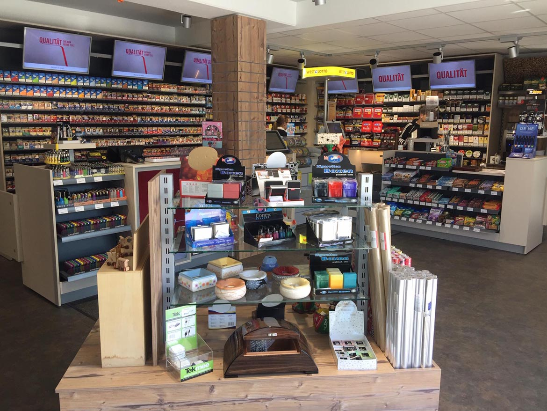 Modernes-Tabakwaren-Geschäft
